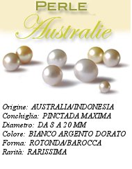Scheda Perle Australiane