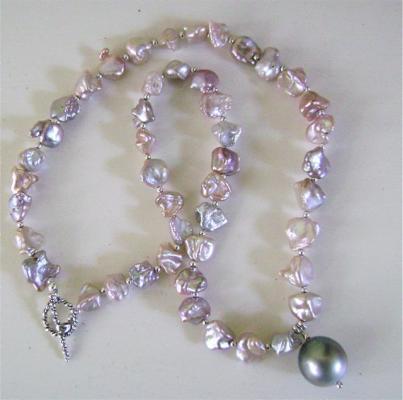 Perle Keshi di acqua dolce