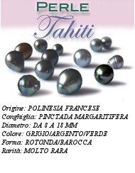 Scheda Perle di Tahiti