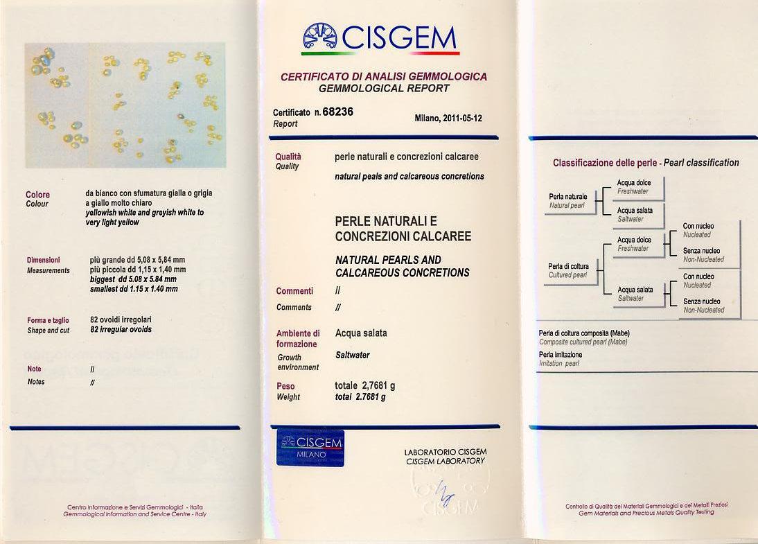 Certificato CISGEM